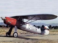 Stosser FW-56 model airplane plan