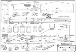 Strikemaster model airplane plan