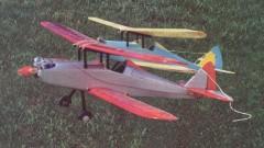Strutz Courier model airplane plan
