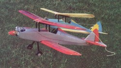 Strutz Courier model airplane plan