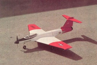 Styros XV model airplane plan