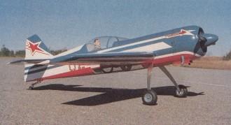 Sukhoi 26 model airplane plan