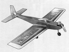 Sun Fli III model airplane plan