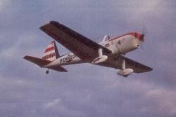 Super Chipmunk model airplane plan