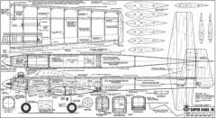 Super Kaos Jr model airplane plan