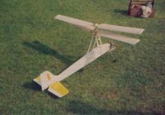 Super Libelle model airplane plan