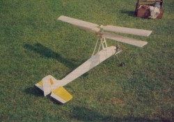 Super Libelle model airplane plan