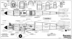 Super Sportster 90-120 model airplane plan