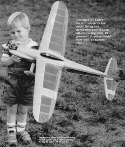 Sweet-P model airplane plan