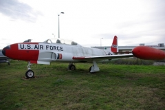 T-33 Shooting Star model airplane plan