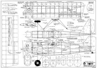 TMTT model airplane plan