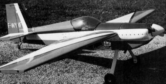 TR-260 model airplane plan