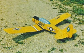 Tall Texan model airplane plan
