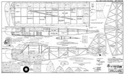1935 Taylor Cub E-2 model airplane plan