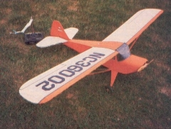 Taylorcraft 1941 model airplane plan