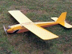 Teeny Trainer model airplane plan