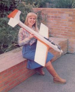 Tensilon model airplane plan