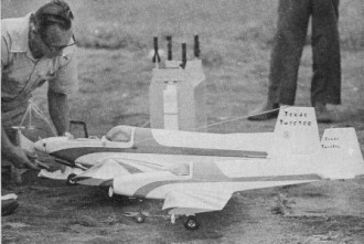Texas Twister model airplane plan