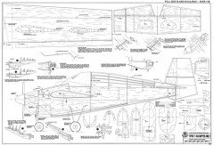 Tipsy T.66 Nipper Mk2 model airplane plan