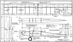 Tom Swift Electric 48in model airplane plan