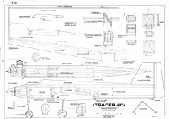 Tracer 40 RCM 973-2 model airplane plan