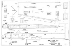 Tracer 60 RCM 974 model airplane plan