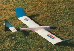 Transatlantic model airplane plan