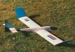 Transatlantic model airplane plan