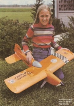 Tri-Valley Top Dawg model airplane plan