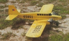 Twin Star 15 model airplane plan