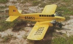 Twin Star 15 model airplane plan