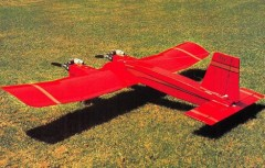 Ugly Twin model airplane plan