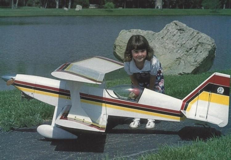 Ultimate 4-120 model airplane plan