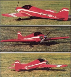 Ultra Sport 1000 model airplane plan