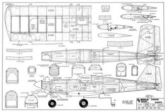 Under Dawg model airplane plan
