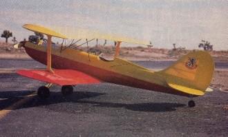 Utility Bipe model airplane plan