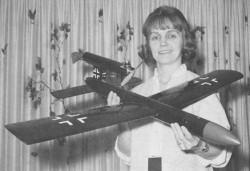 V-1 Buzz Bomb model airplane plan
