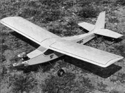 VM1W model airplane plan