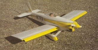 Van's RV-3 model airplane plan