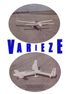 Varieze model airplane plan