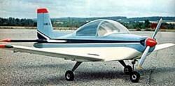 Victa Airtourer model airplane plan
