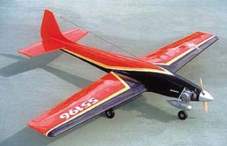 Virginia Creeper model airplane plan