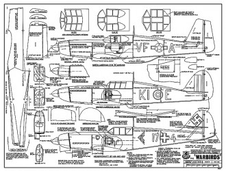 Warbirds model airplane plan