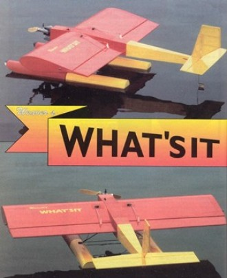 Weavers What'sit model airplane plan