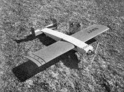 Weekend Warrior model airplane plan