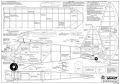 Whimpy model airplane plan