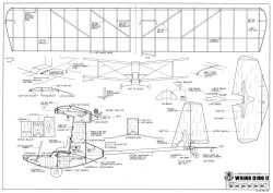 Whing Ding II model airplane plan