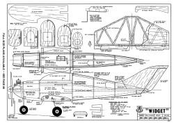 Widget model airplane plan