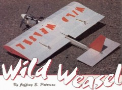 Wild Weasel model airplane plan