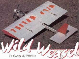 Wild Weasel model airplane plan